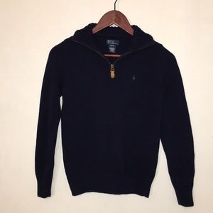 Polo by Ralph Lauren Navy Knit Sweater